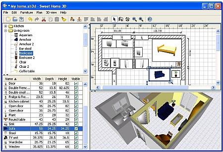 Disegna e arreda gli interni della tua casa in anteprima 3 for Programma arredamento interni