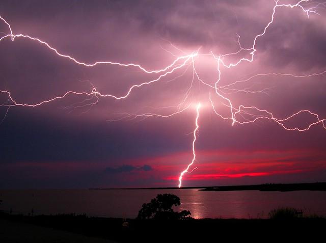Lightning at Dusk