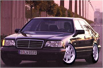 Mercedes Benz S Klass W140 With Brabus Rims Rate My
