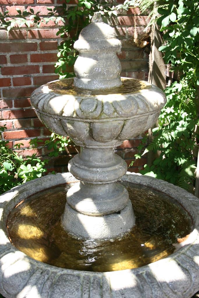 Filoli Gardens Fountain Jill Clardy Flickr