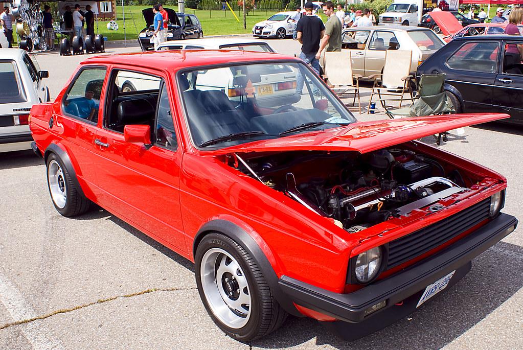 Vagkraft 2008 253 Vw Jetta Mk1 Red Jason Swaby Flickr