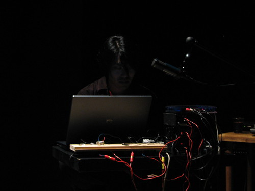 Amplify08 day 1: Keith Rowe/Taku Unami duo | by Spiral Cage