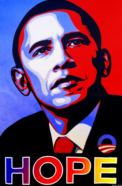 Image result for obama hope poster