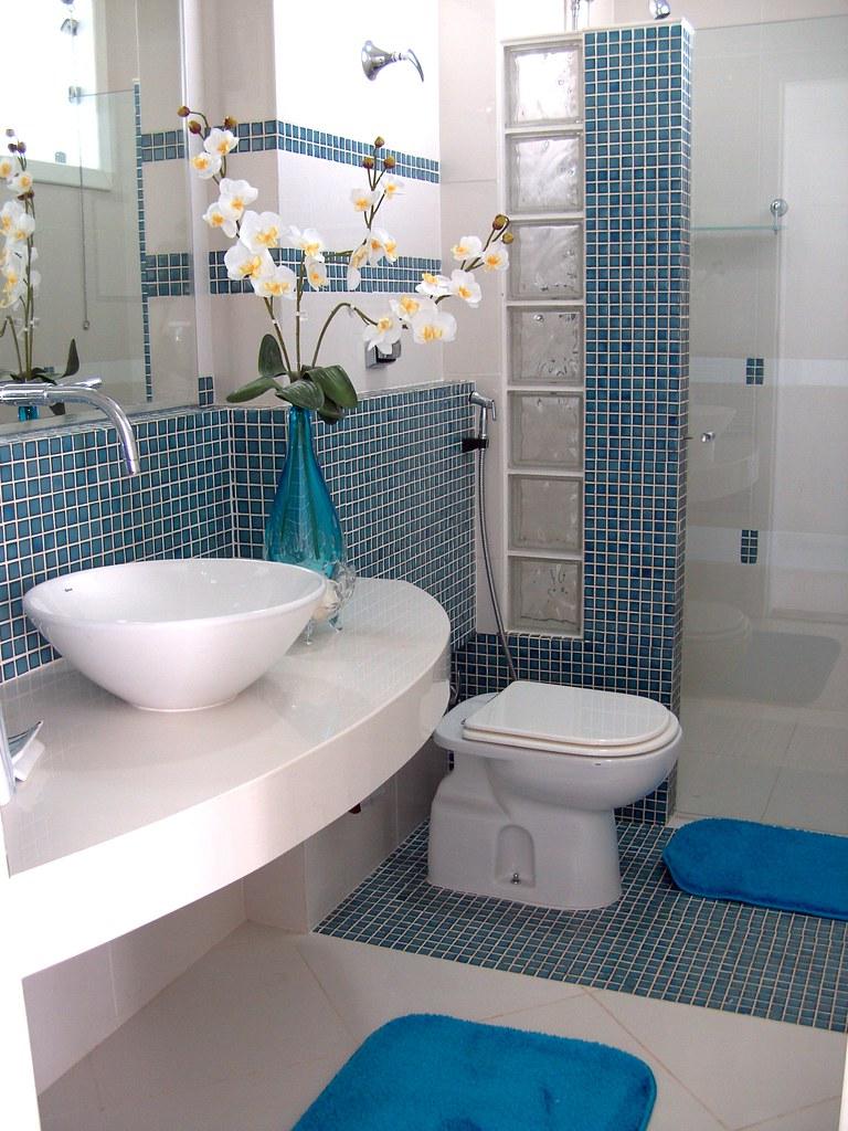 Decoração de Banheiros  Flickr -> Decoracao Banheiro Lilas