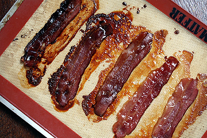 postbaked bacon | by David Lebovitz