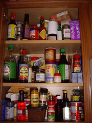 Spice Cabinet - Left - Before