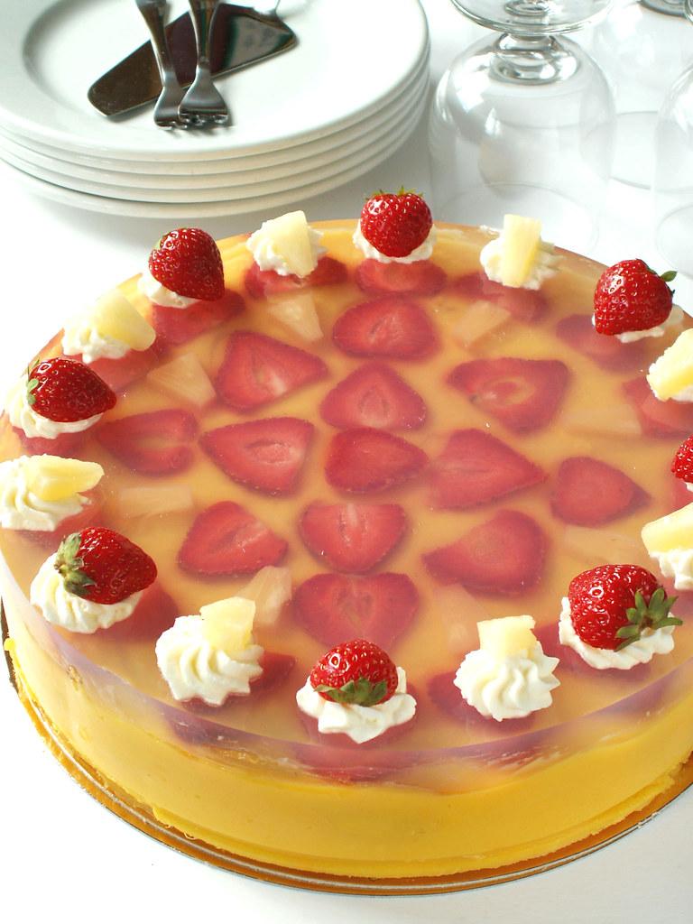 Pineapple Puree Cake Recipe