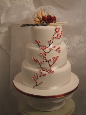 Nhu S Chinese Wedding Cake Nhu Pronounced New Was