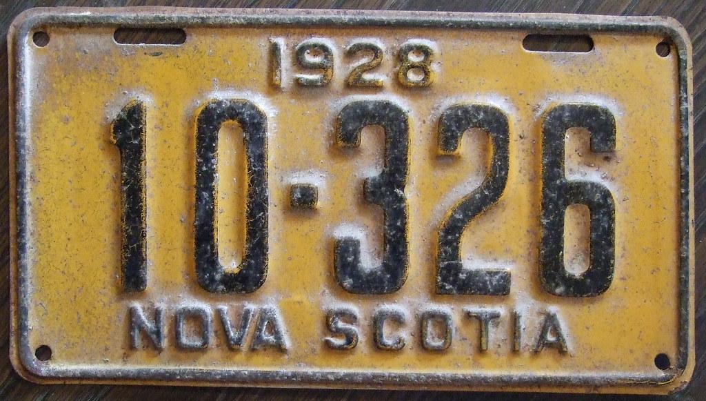NOVA SCOTIA 192...
