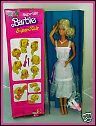 Mattel S Super Size Barbie 19 Vinyl Fashion Doll Supe
