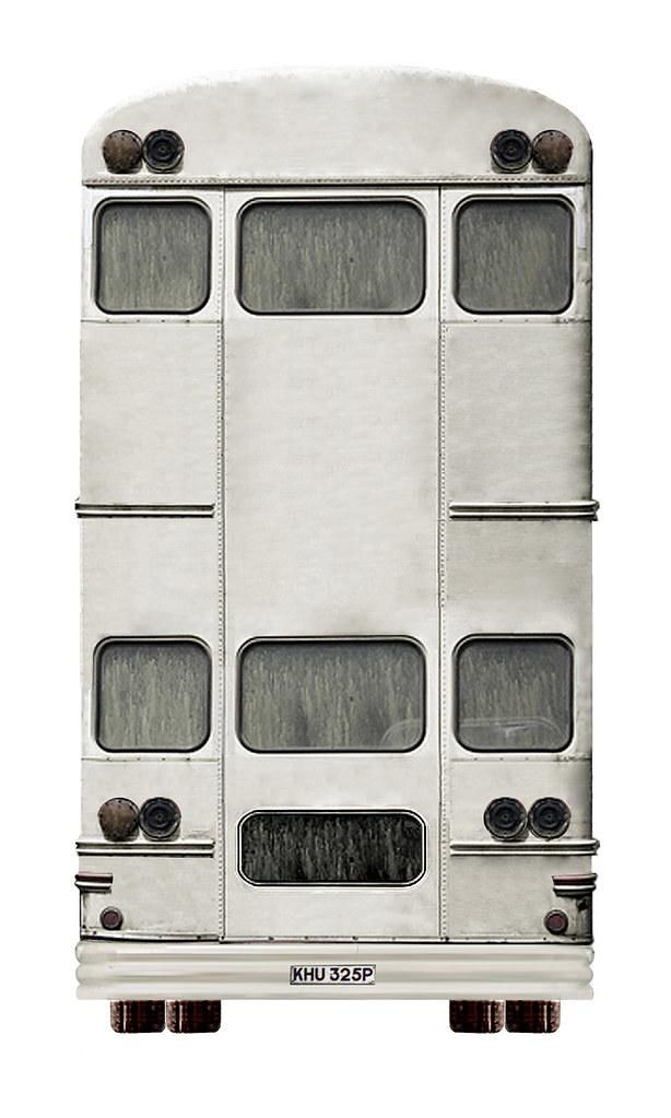 Βus Ηotel rear view