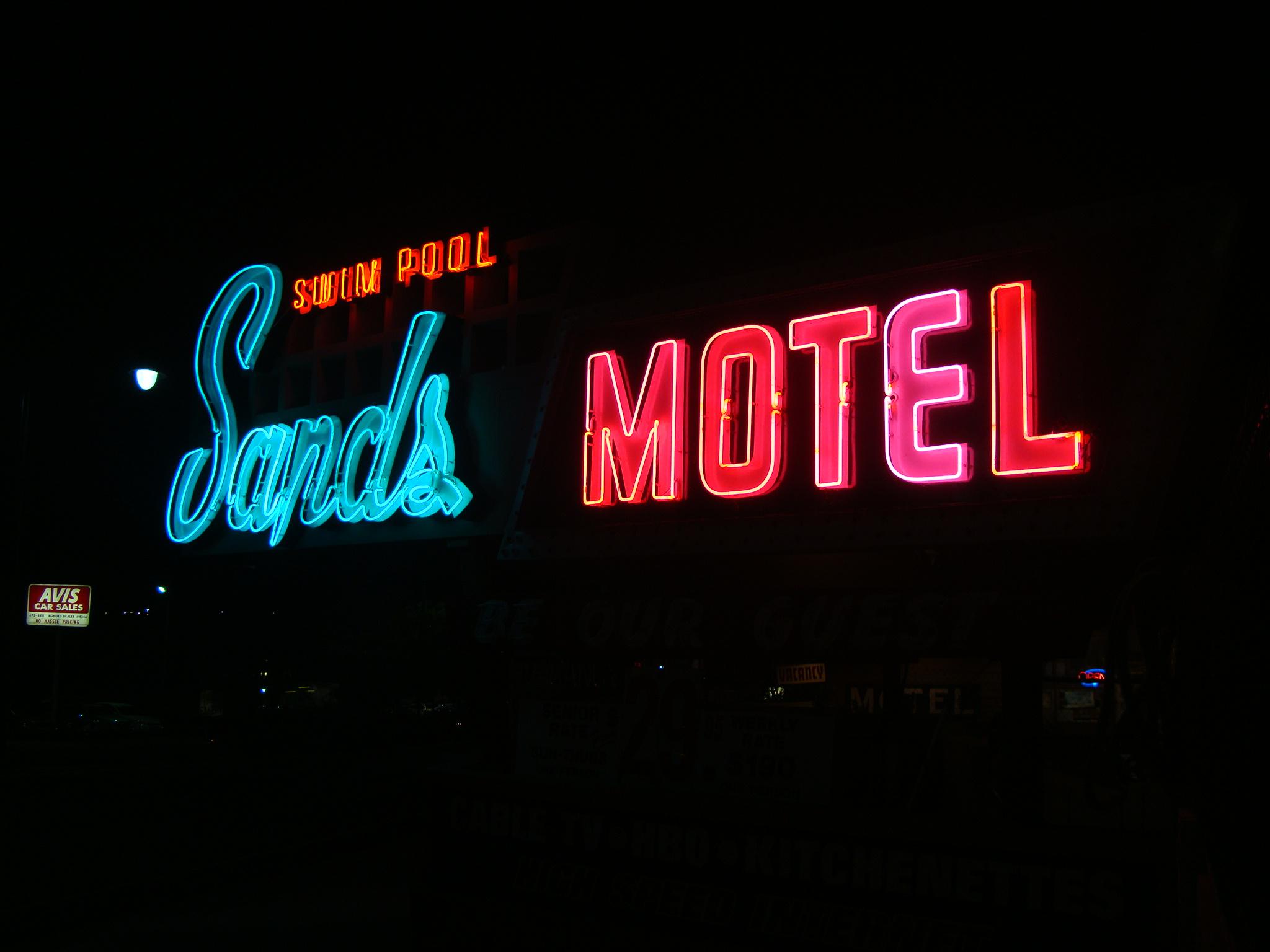 Sands Motel - 581 East Saint George Boulevard, Saint George, Utah U.S.A. - October 17, 2008