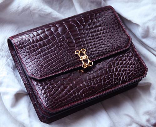 celine micro bag price - Celine 1970's vintage alligator clutch bag | coffredebaudet.�� | Flickr