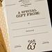 Oak 63 Gift Cards