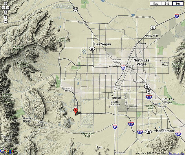 Las Vegas valley combo map Las Vegas Maps Flickr