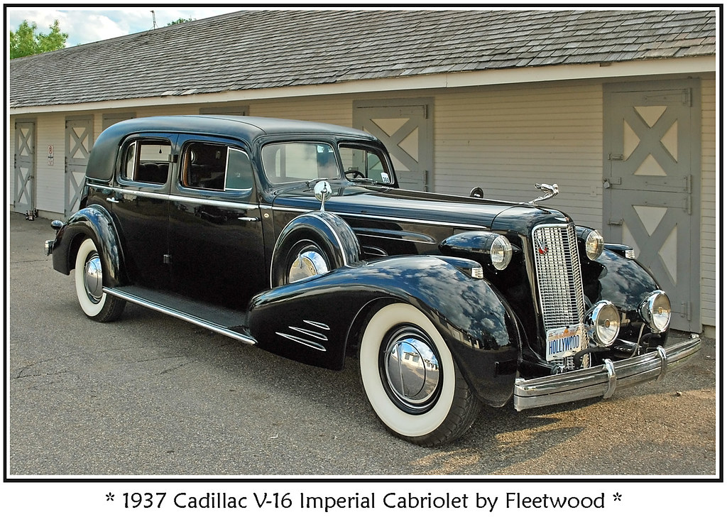 1937 Cadillac V 16 Imperial Cabriolet The Meadow Brook
