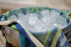 Cover with a tea towel and ice | by Elise Bauer