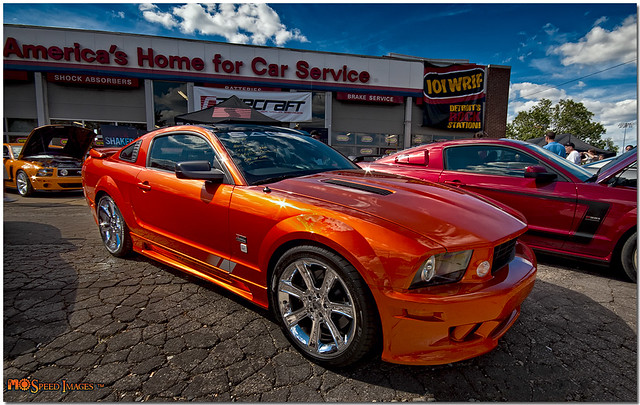 Beryllium Saleen Mustang Exclusive Paint Colour For The