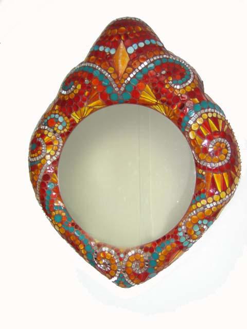 Miroir sh razade mosaic toone flickr for Miroir 3 pans