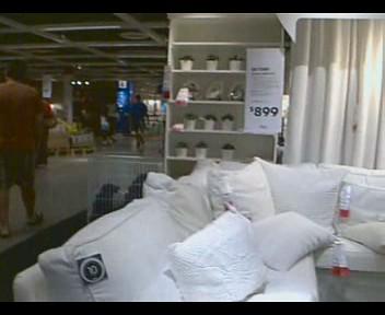 ikea store dallas texas window shopping nokia n90 video p flickr. Black Bedroom Furniture Sets. Home Design Ideas