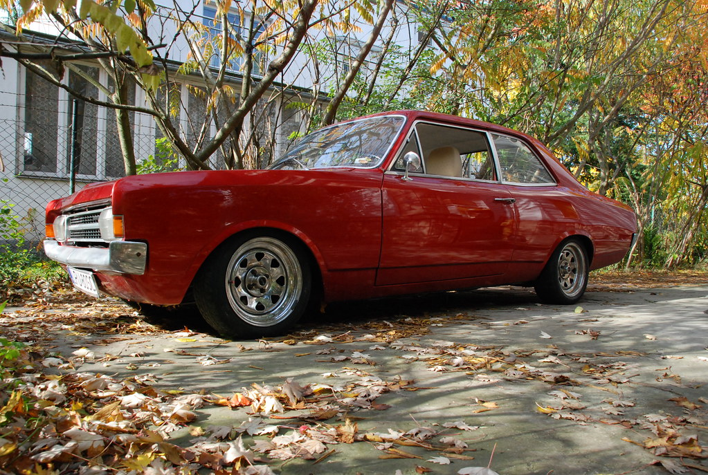 Opel Rekord C 1971  That is my better half, my treasure