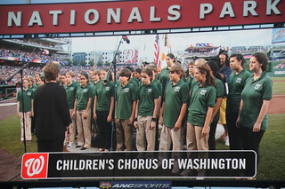 Childrens Chorus of Washington at Nationals Park | by Scott Ableman