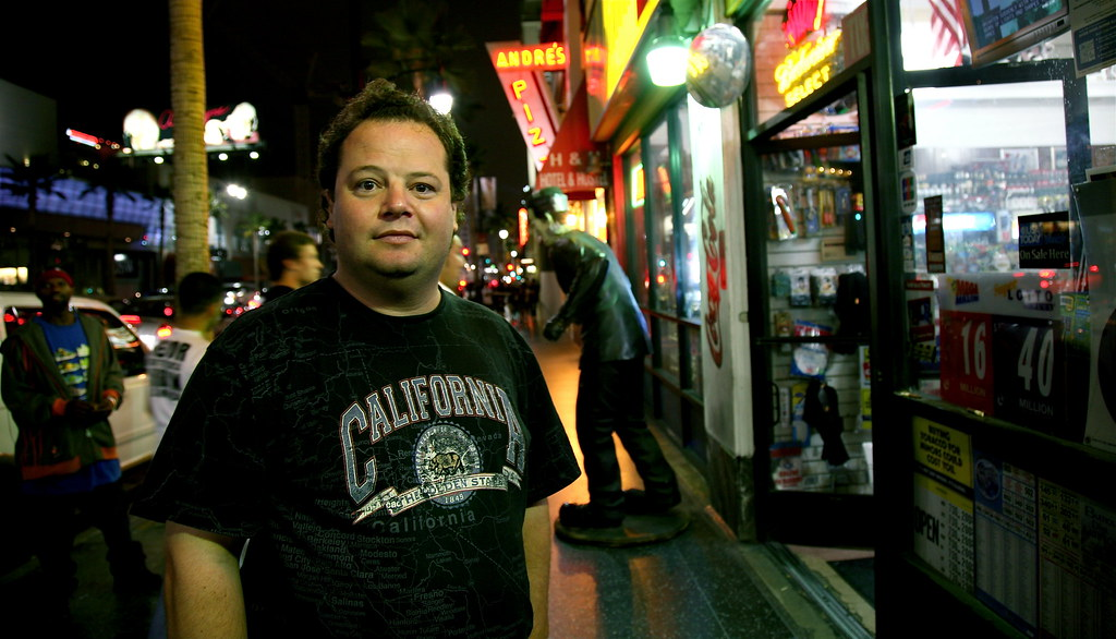 Jason Presson on Hollywood Boulevard | Jason is one of my ...