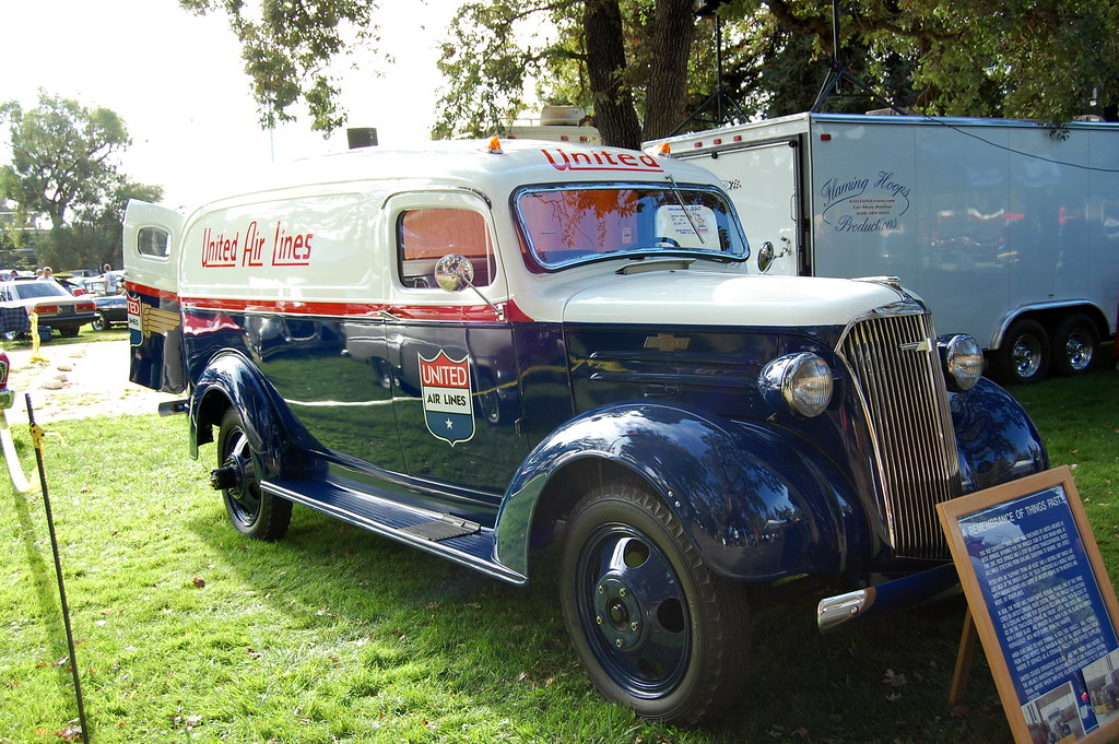 1937 Chevrolet United Airlines Panel Truck | Horses to ...