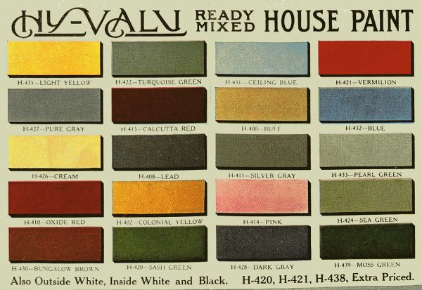 Aladdin paint antique house paint colors hy valu ready - House paint colors exterior photos ...