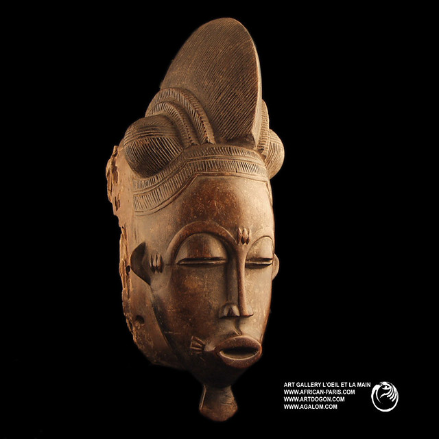 Masque baoule mask baule african art primitif art for Art premier