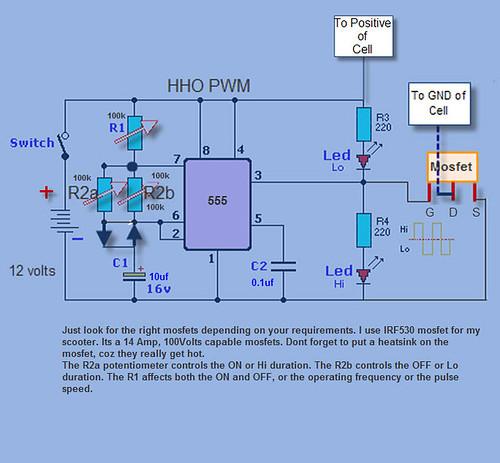Шим модулятор для hho генератора своими руками