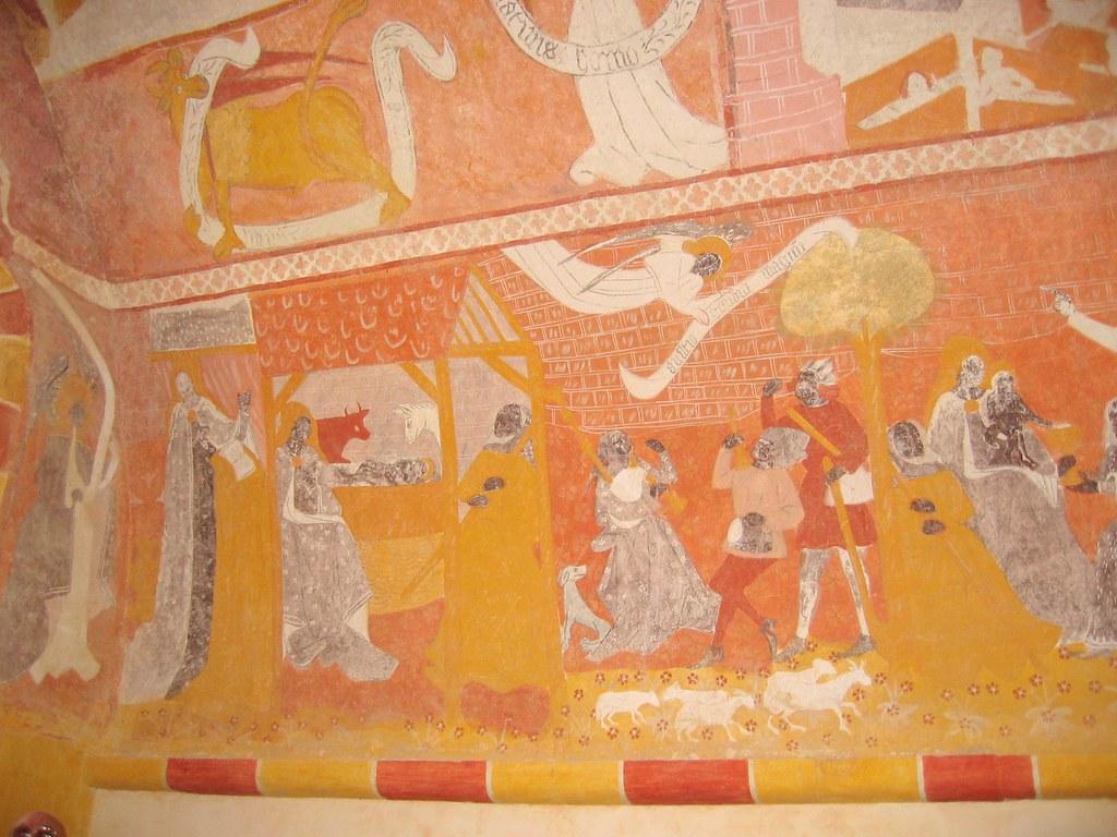 peintures murales chapelle de jouhet 86 philippe doyen flickr. Black Bedroom Furniture Sets. Home Design Ideas