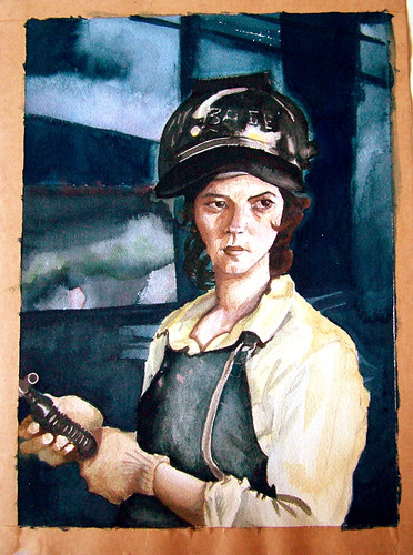 welder girl | by Sarabbit