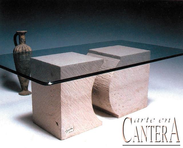 Bases para mesa de centro mod figuras 40 arte en for Bases de mesas cromadas