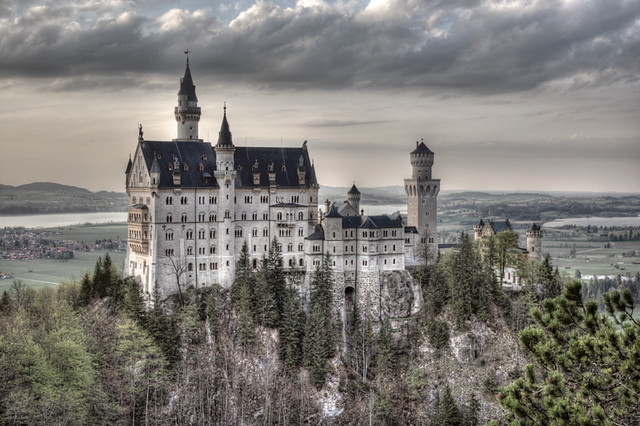 Neuschwanstein Castle,...