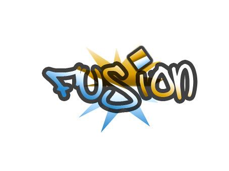 fusion logo to view more of my logo artwork visit www