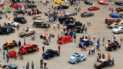 Fake Miniature Car Show | by baldheretic