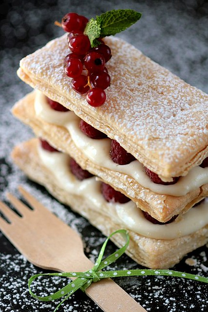 Lemon Raspberry Mille Feuilles | Recipe and story here ...