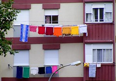 Rainbow clothes line.... | by Loca....
