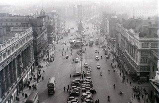 O' Connell Street from Nelson's Pillar, Dublin, Irish Republic, 31 January 1959 | by allhails