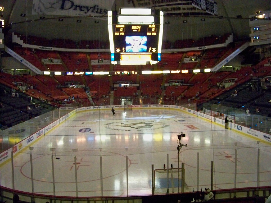 About >> Mellon Arena | Inside the Mellon Arena before Pens vs ...