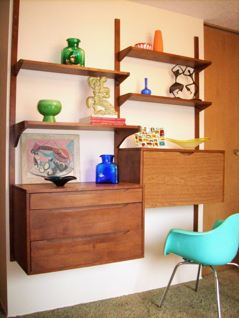 Latest find danish ish wall unit found on craigslist for Latest wall unit