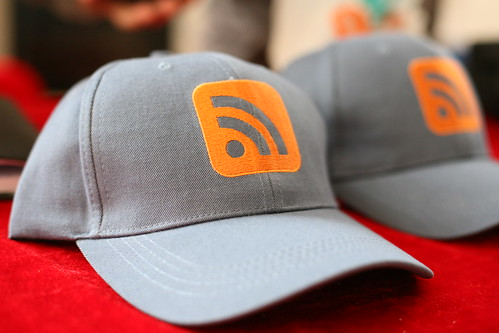 RSS hats in China | by Robert Scoble