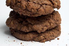 Ghirardelli's Ultimate Double Chocolate Cookies | by bakeorbreak