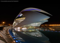 The Valencia's Opera House wearing its best clothes | by Salva del Saz