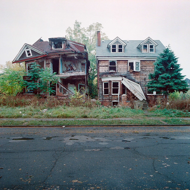 Abandoned Houses In Detroit Michigan Part Of A Series