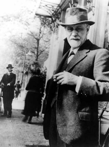 Sigmund Freud by wordscraft