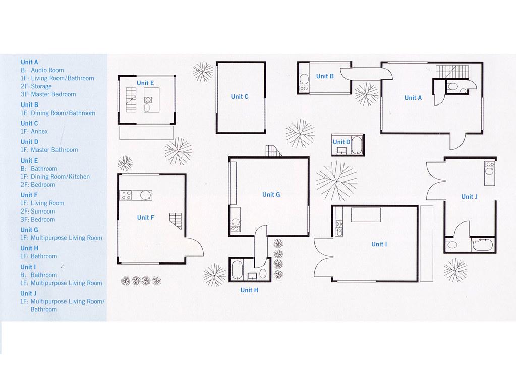 Moriyama House Floor Plan Fatboy Tien Flickr