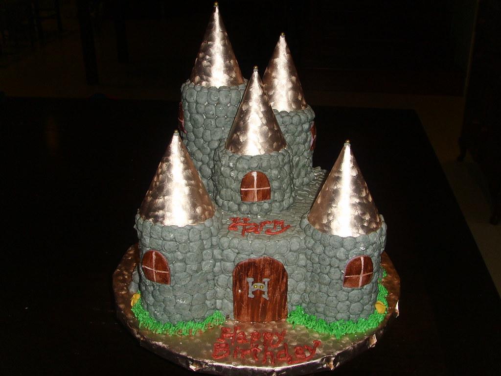 Hogwarts Castle Cake Hogwart S Castle In Vanilla Cake