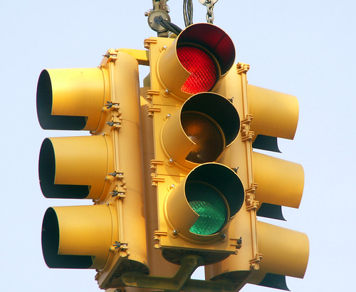 Driving Dilemma:  What Do You Do When The Light Turns Red AND Green? | by Sister72